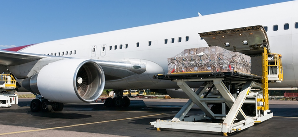 حمل بار هوایی از چین به ایران