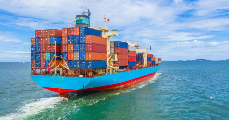 حمل خرده بار دریایی از چین به ایران